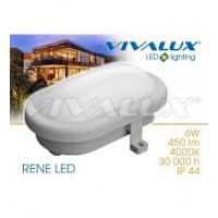 Aplica LED RENE 8W IP54 Lumina Neutra Vivalux